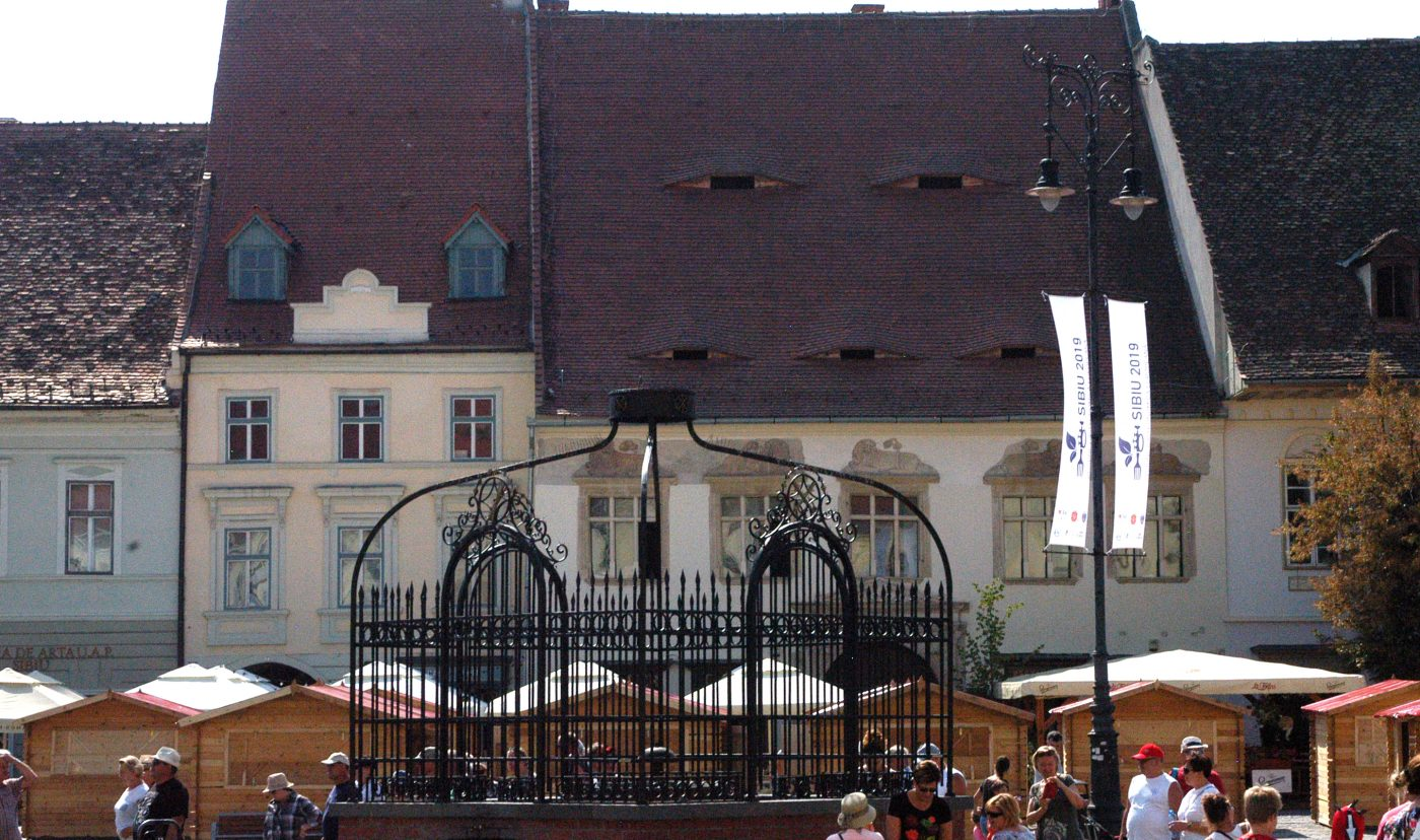 Fantana cu grilaj Sibiu