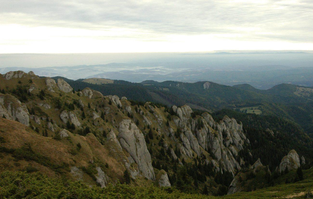 Peisaj superb din Muntii Ciucas