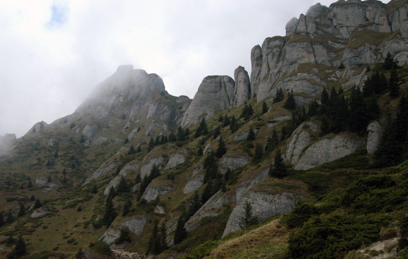 Creste superbe din Muntii Ciucas