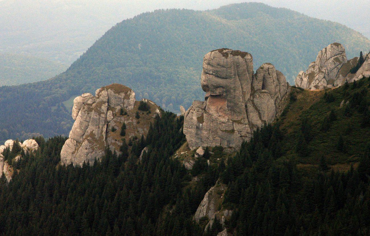 Creste impunatoare din Muntii Ciucas