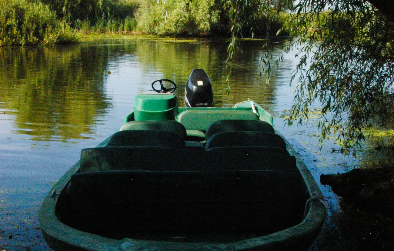 Barca pescarilor, Delta Dunarii