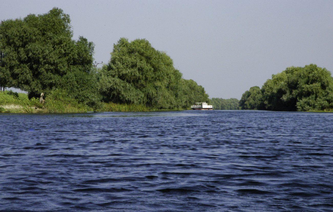 Vapor din Delta Dunarii