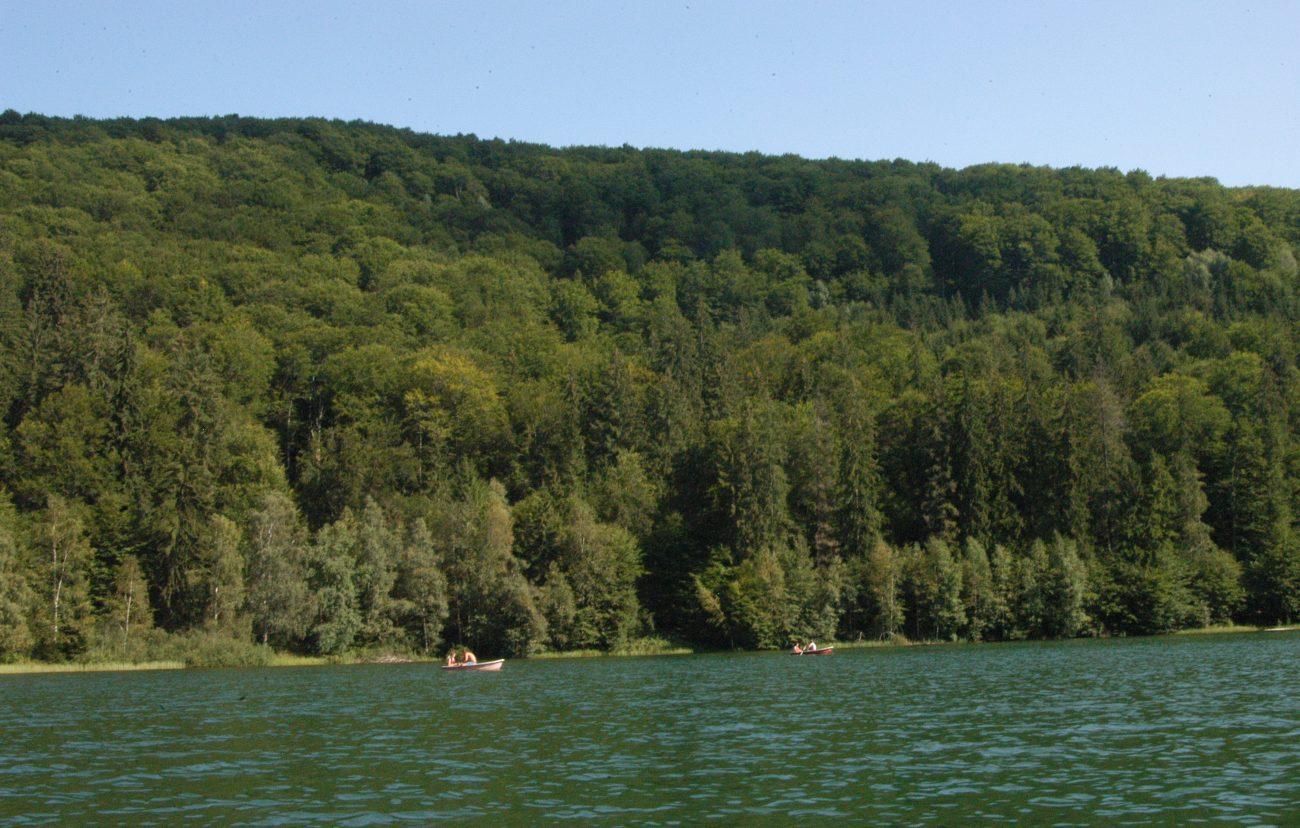 Priveliste Lacul Sfanta Ana