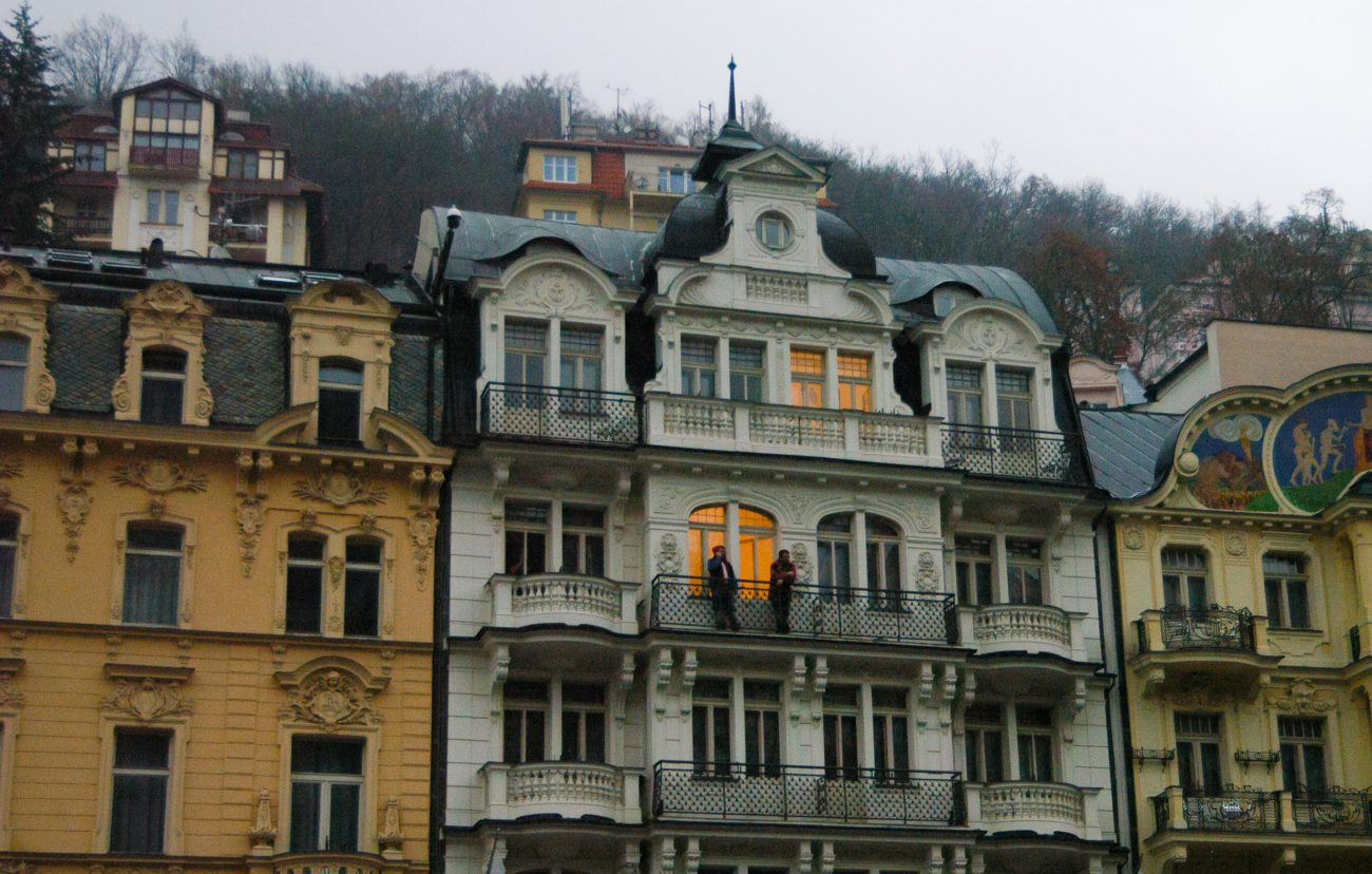 Cladiri spa Karlovy Vary