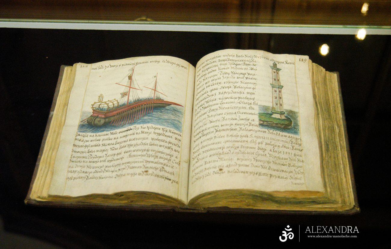 Scrieri vechi din Biblioteca din Praga