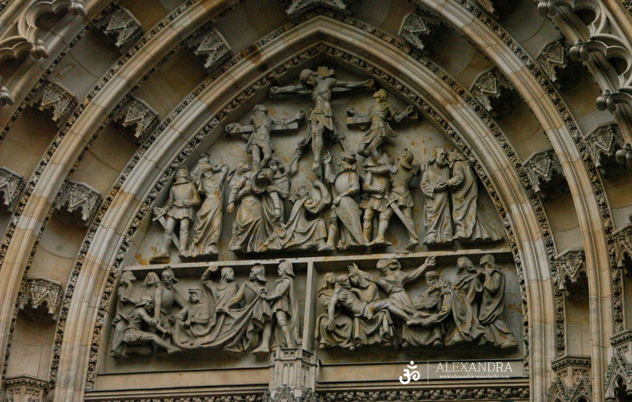 Detalii catedrala Sfantul Vitus