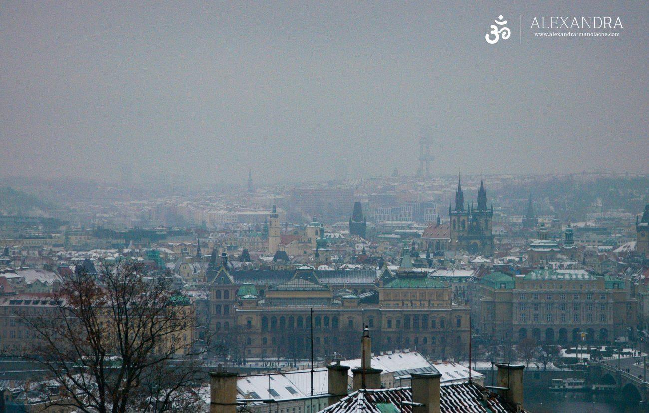 Priveliste de ansamblu asupra orasului